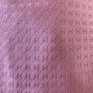 Hermes Accessories - Hermès Tie Faconnee H light pink H Tie